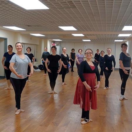 Adult Beginners Ballet